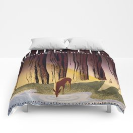 Wild Life - National Parks Preserve All Life Comforters