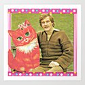 Guys Who Love Cats handcut collage by georgiewatts1