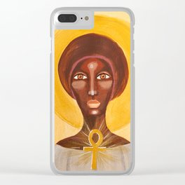 Goddess no 16 Clear iPhone Case