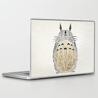 arnold Laptop & iPad Skins featuring totoro by Manoou