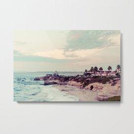 San Diego Beach Fine Art Print Metal Print