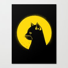 Hero Cat Canvas Print