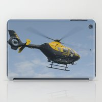 police iPad Cases featuring Police helicopter by PICSL8