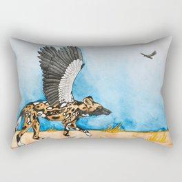 African Simurgh Rectangular Pillow