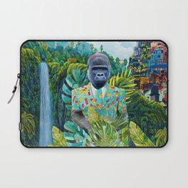 Gorilla in the jungle Laptop Sleeve