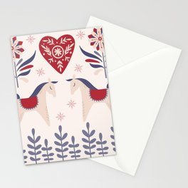 Swedish Christmas 3 Stationery Cards