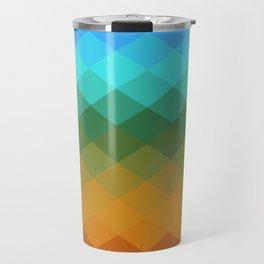 Rombs Vintage colors Travel Mug