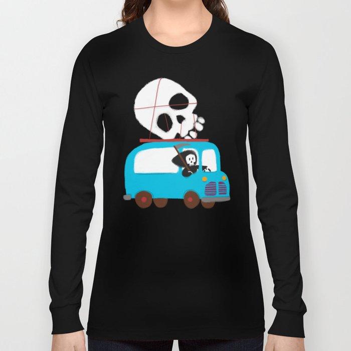 Death on wheels Long Sleeve T-shirt