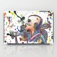 tank girl iPad Cases featuring Tank Girl by Abominable Ink by Fazooli