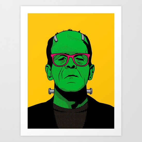 Lichtenstein's Monster Art Print