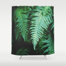 Ferns Shower Curtain