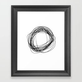 cs Framed Art Print
