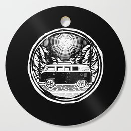Adventure Van Cutting Board