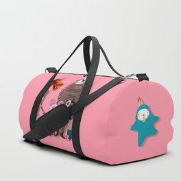 Time rabbit Duffle Bag