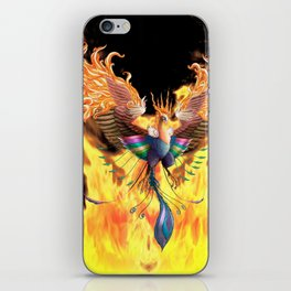 Flames of Life iPhone Skin