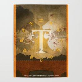 Vintage FF Poster Tactics Poster