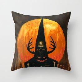 Autumn Acolyte Throw Pillow