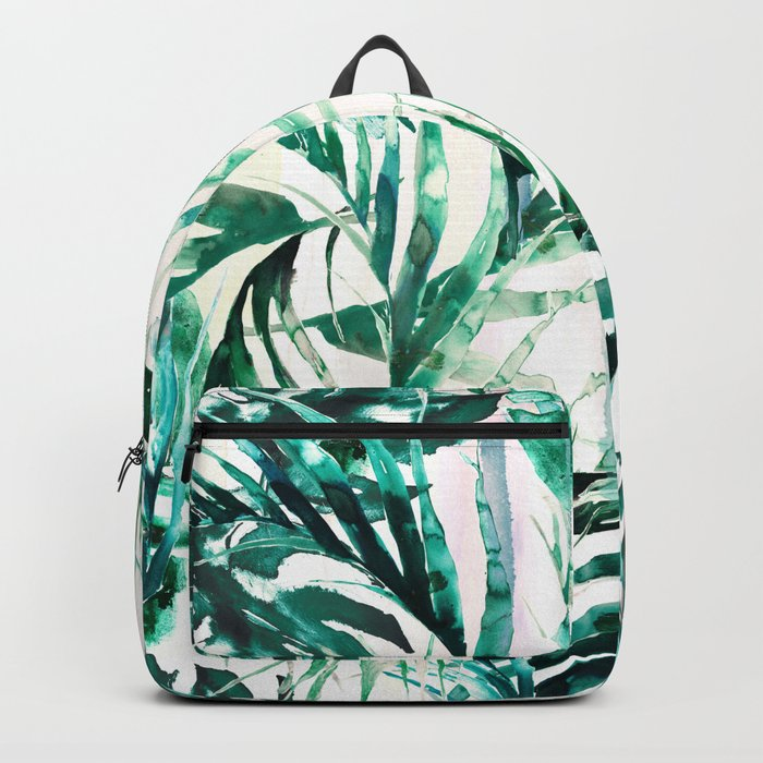 Green Tropical paradise  Backpack