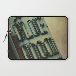 Blue Room Neon Sign Laptop Sleeve