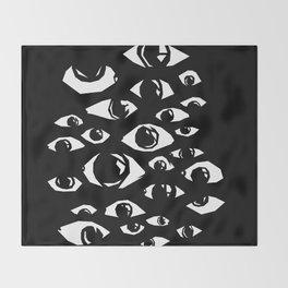 eyes eyes baby Throw Blanket