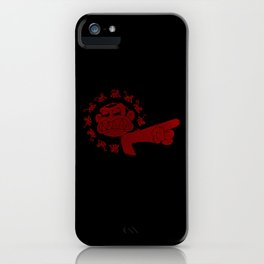 12 Evil Monkeys iPhone Case