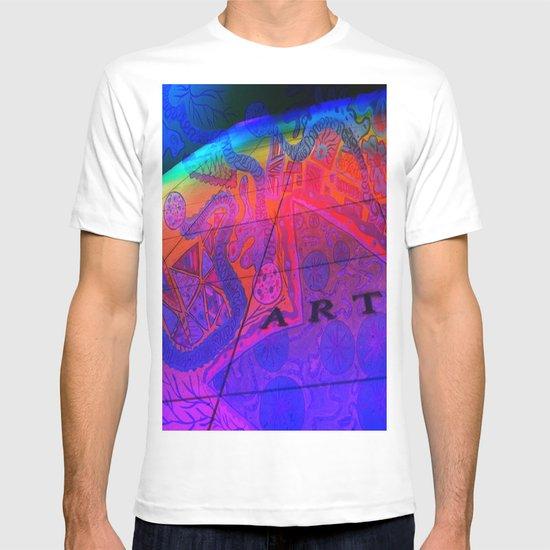 Art Wall Collage T-shirt