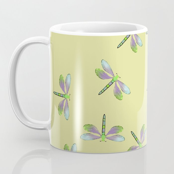 Dragonfly Frenzy Coffee Mug