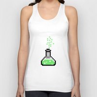 chemistry Tank Tops featuring the chemistry by muffa