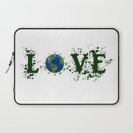 Earth Day Love Mother Earth Laptop Sleeve