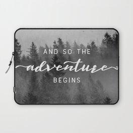 And So The Adventure Begins III Laptop Sleeve