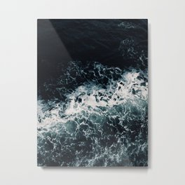 With The Ocean I Metal Print
