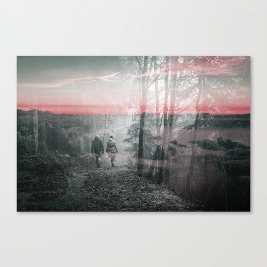 Unknown Fate Canvas Print