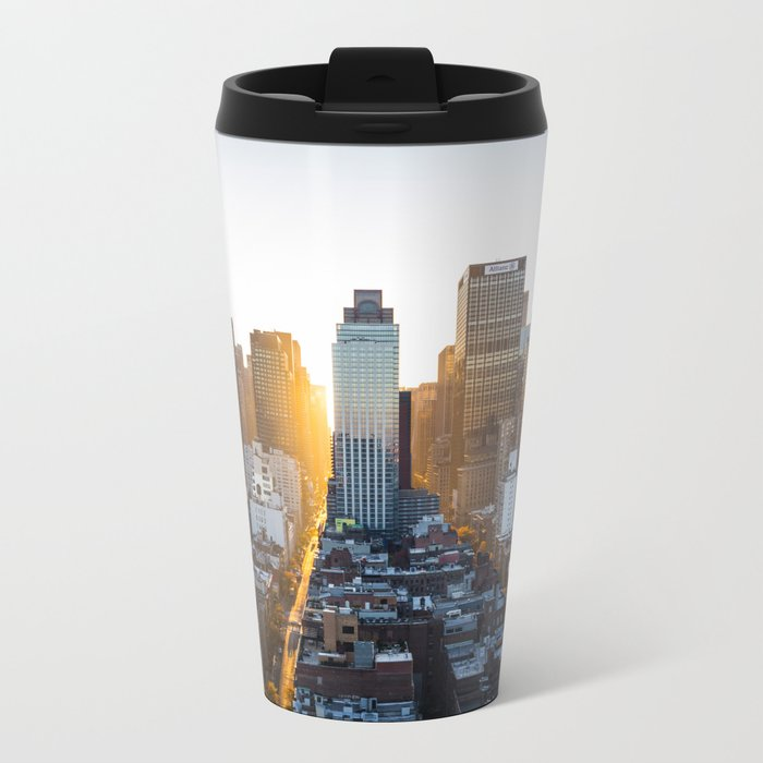 Beautiful NYC Metal Travel Mug