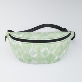 Harlequin Marble Mix Greenery Fanny Pack