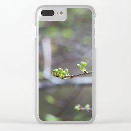 Buds Clear iPhone Case