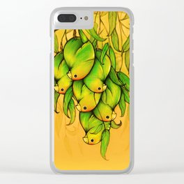 Parrot mangoes Clear iPhone Case