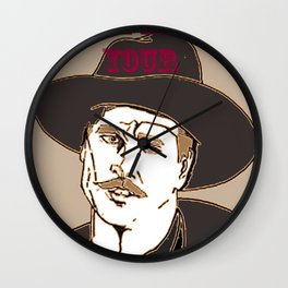 I'm your Huckleberry Wall Clock