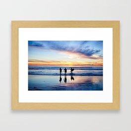 Board Meeting Framed Art Print