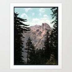 South Dome, Yosemite Valley Art Print