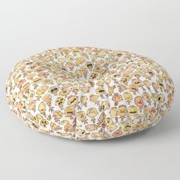 A daily smile Floor Pillow