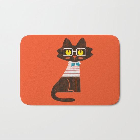 Fitz - Preppy cat Bath Mat