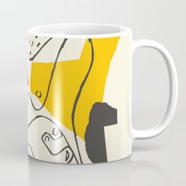 Le Corbusier - Vintage french exhibition poster Coffee Mug