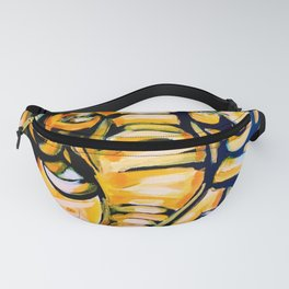 Gold Luck Elephant Fanny Pack