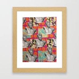 aloha apollo Framed Art Print