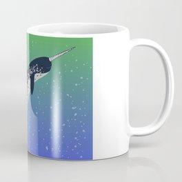 Happy Narwhal Coffee Mug