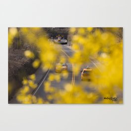 Yellow New York City Canvas Print