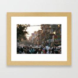 Buzzy Delhi Framed Art Print