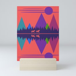 Wild Horses #1 Mini Art Print