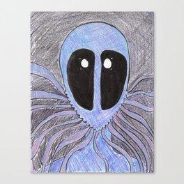 Squid Mask Canvas Print
