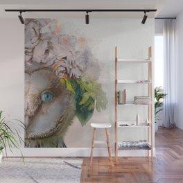 Animal Art - Owl Painting Wall Mural